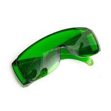 Окуляри зелені підсилюючі захисні для лазерного гравера 1250НМ OD4+
