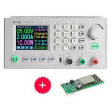 Джерело блок живлення понижуючий DC-DC програмований 0-60В 6А RD6006-W Wi-Fi