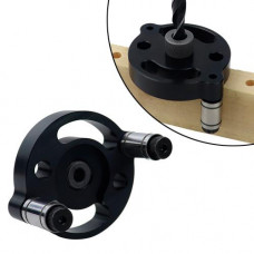 Кондуктор шаблон торцевий для свердління під шкант 6 8 10мм, 37шт аксесуари