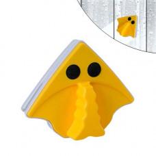 Щітка магнітна для миття вікон 3-8мм з двох сторін, трикутна