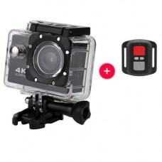 Відеокамера, екшн-камера водонепроникна 4K UKC CSZ-S3R, кріплення, ДК