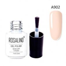 Гель-лак для нігтів манікюру 7мл Rosalind, шелак, А902 крем брюле