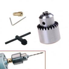 Міні патрон свердлильний 0.3-4мм під 3.17 мм JT0 вал для микродрели PCB