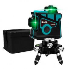 Професійний лазерний рівень нівелір 12 ліній 3х360град АКБ Hilda 3D