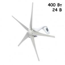 Вітрова електростанція, вітрогенератор з контролером, 400Вт 24В, SH-400s