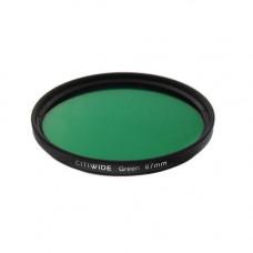 Кольоровий фільтр 67мм зелений, CITIWIDE