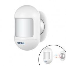 Датчик руху міні ІЧ PIR 433МГц для GSM сигналізації KERUI P831