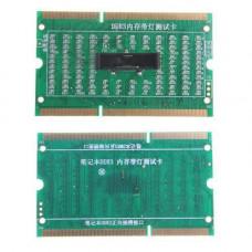 Тестер слоти пам'яті SODIMM DDR3 мат плати ноутбука