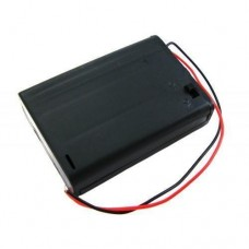 Бокс на 3 АА батареї, 4.5 V кейс, харчування Arduino