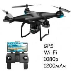 Квадрокоптер Дрон Wi-Fi 1080p GPS 1200мАч 18мін 220г Holy Stone HS120D