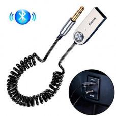 Bluetooth 5.0 аудіо приймач AUX адаптер 3.5 мм трансмітер Baseus BA01