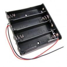 Бокс на 4шт 18650 батареї, 14.8 В, харчування Arduino