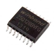 Чіп W25Q128 W25Q128BVFG 25Q128BVFG SOP16 300mil, 128Мб Flash SPI