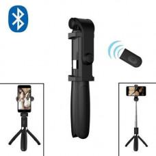Монопод селфі палиця штатив 3в1, 24-65 см, Bluetooth, пульт ДУ, L01S