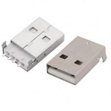 Коннектор роз'єм USB 2.0 тато 4pin AM 90 градусів SMT SMD