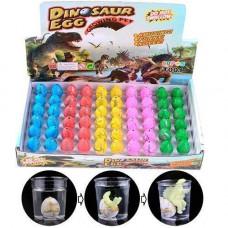 Діно інкубатор 60шт 3х2см растишка яйце динозавра зростаючий динозавр