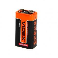 Батарейка крона VIDEX CR-6F22 9V батарея 9В