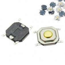 10x Кнопка тактова, мікрік, SMD 4 контакту, 4х4х1.5мм 5х5х1.5мм