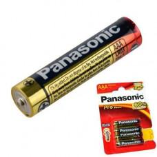 Батарейка AAA LR3 Panasonic Alkaline Pro Power лужна 1.5 В