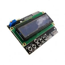 LCD Keypad Shield модуль Arduino 1602 РК дисплей