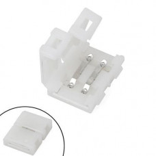 Конектор затискний 2pin для світлодіодних стрічок 10мм SMD 5050 WS2811 WS2812