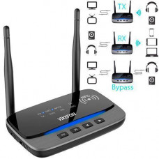Bluetooth 5.0 аудіо приймач, передавач 80м aptX HD SPDIF VIKEFON BT-B21