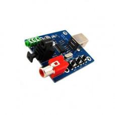 Зовнішній USB аудіо ЦАП, звукова карта PCM2704