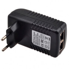 Адаптер PoE інжектор живлення камер RJ45 48В 0.5А