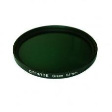 Кольоровий фільтр 58мм зелений, CITIWIDE
