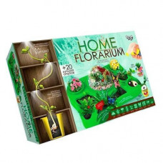 Набір для вирощування рослин, навчальний, Home Florarium Danko