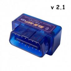 Міні ELM327 Bluetooth V2.1 OBD2 сканер діагностики авто