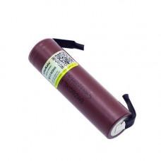 Акумулятор 18650 высокотоковый Li-ion 3.6 В 3000маг 20А Liitokala з клемами