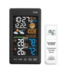 Метеостанція c барометром виносним датчиком ЖК 5.6