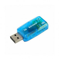 USB Звукова карта, 3D sound 5.1
