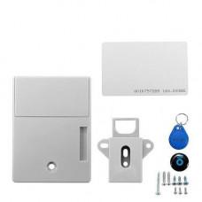 Електронний прихований RFID замок з 2 ключами для шафок і меблів