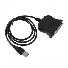 Перехідник USB - LPT паралельний порт 1284 DB25