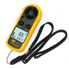 Анемометр цифровий вимірювач швидкості вітру Benetech GM816