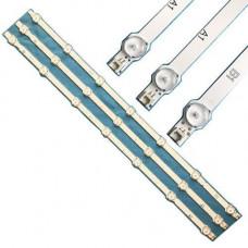 3x LED планка лампа підсвічування РК ТВ 32 630мм LG 6916L-1437A 1438A 1426A