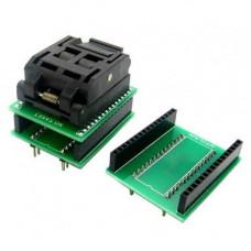 TQFP32 QFP32 LQFP32 - DIP28 DIP32 перехідник панелька