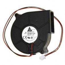 Вентилятор равлик 75мм 12В 2пін відцентровий турбіна кулер ЧПУ, сервера