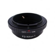 Адаптер-перехідник для Canon FD - Nikon 1 J1, кільце Ulata