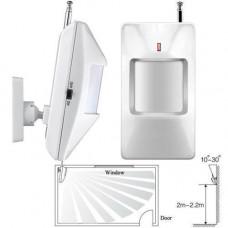 Датчик руху ІЧ PIR бездротовий 433МГц для GSM сигналізації, тип A