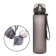 Пляшка для води 560мл з дозатором для спорту POWCAN