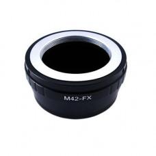 Адаптер-перехідник M42 - Fujifilm X FX, кільце Ulata
