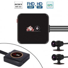 Відеореєстратор для мотоцикла 1080p Wi-Fi VSYS P6L, GPS, ДК, IP68