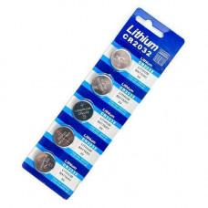 5x Батарейка таблетка CR2032, 5004LC L14, Lithium літій
