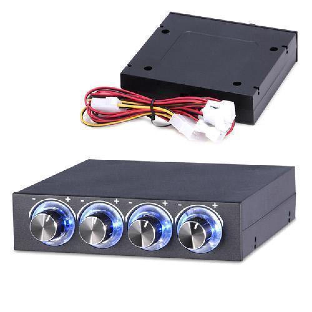 Реобас 3.5 регулятор швидкості обертання вентиляторів ПК, 4 канали