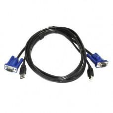 Кабель KVM свіча VGA + USB
