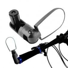 Велосипедне дзеркало заднього виду в трубу керма, регульована 360