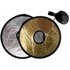 Фото відбивач, рефлектор на об'єктив 2в1 30см